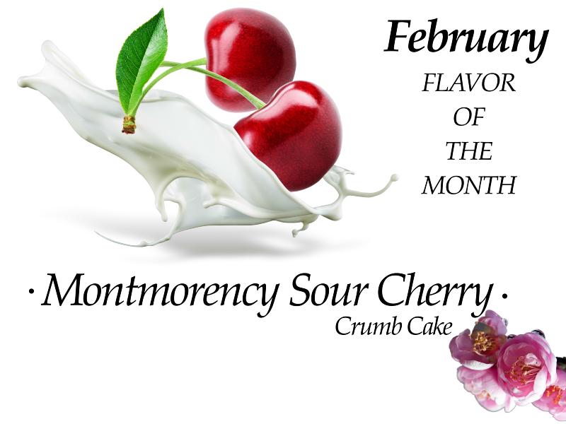 Montmorency Sour Cherry Crumb Cakes