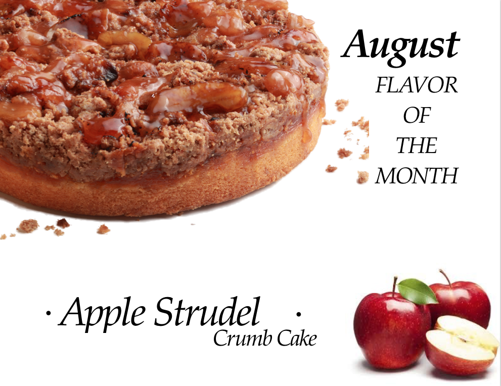 Apple Strudel Crumb Cake of the Month