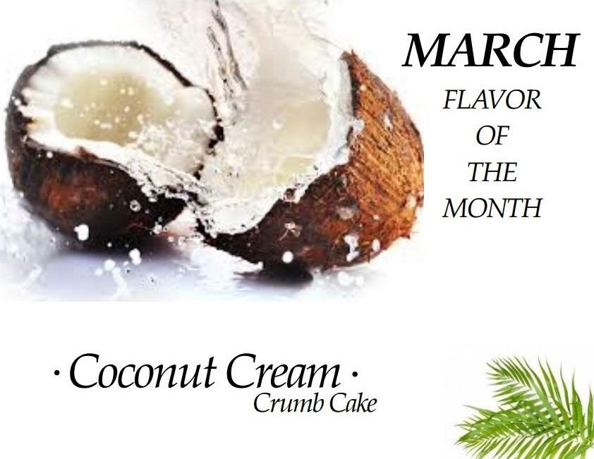coconut cream crumb cake