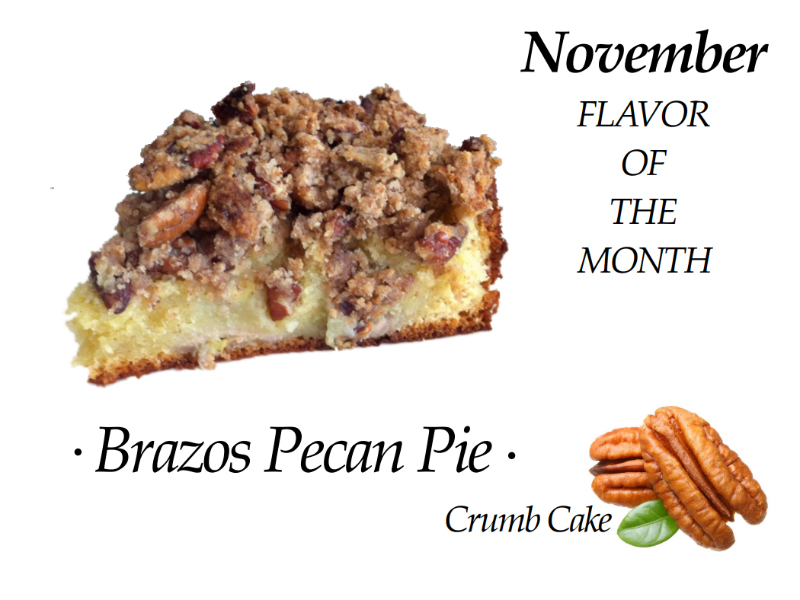 Pecan Pic Crumb Cake of the Month