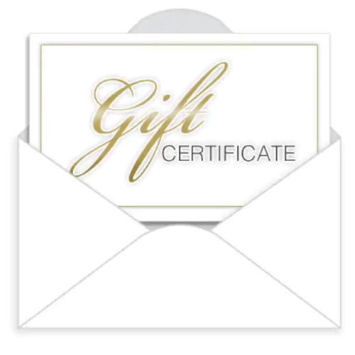 Crumb Cake Gift Certificate