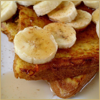 Jamaica Banana Rum French Toast