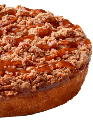 Blenheim Apricot Crumb Cake